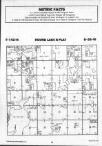 Round Lake T142N-R38W, Becker County 1992 Published by Farm and Home Publishers, LTD